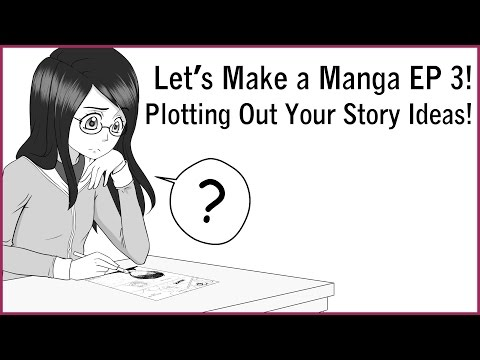 plotting-out-your-story-ideas!-let's-make-a-manga-ep-3!