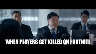 When Players get Eliminated in Fortnite... (Fortnite meme feat. Ready Player One)