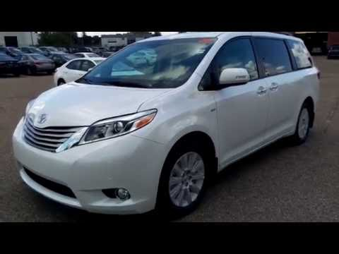 2016 toyota sienna v6 7 passenger limited awd youtube. Black Bedroom Furniture Sets. Home Design Ideas
