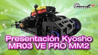 presentacin kyosho mr03 ve pro mm2 english subtitles miniz channel 677