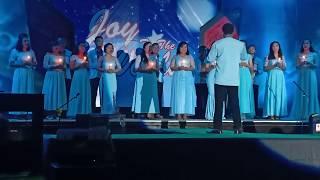 Paduan suara lagu Natal di Ruteng,Manggarai, Madrigal Singers