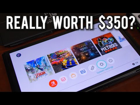 Four Days Later - Is the Nintendo Switch OLED REALLY worth $350 ? | MVG