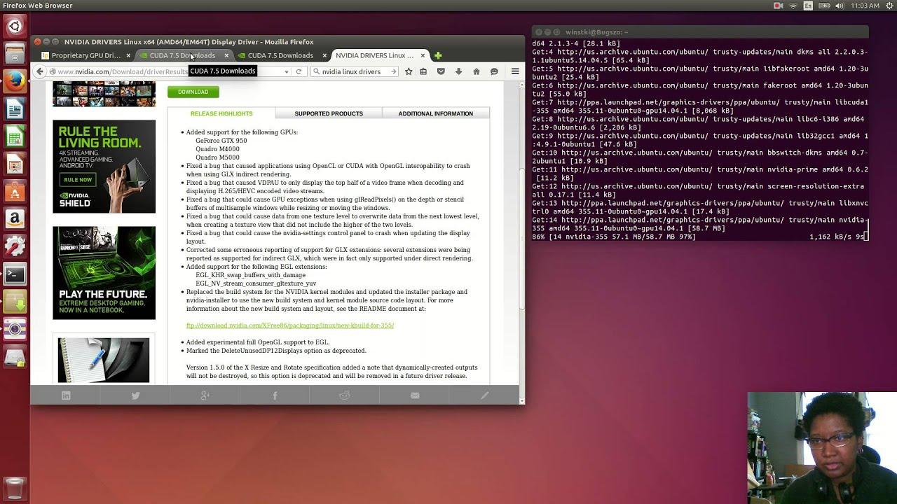 How to install nvidia driver on ubuntu 14. 04,16. 04,17. 04 youtube.