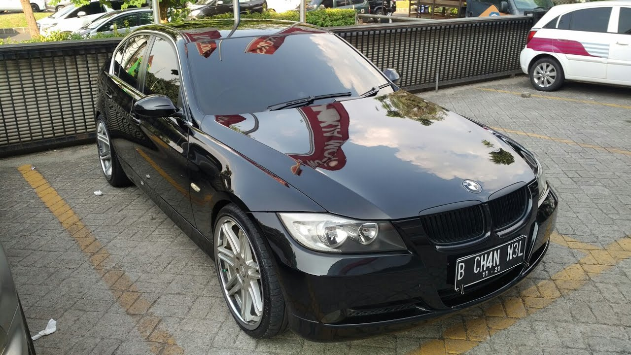 in depth tour bmw 325i e90 prefacelift 2006 indonesia. Black Bedroom Furniture Sets. Home Design Ideas
