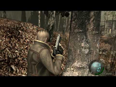 Resident Evil 4 Gameplay on GeForce4 MX 440 AGP 8X