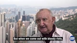 Hong Kong Protests Mark Pinkstone Interview