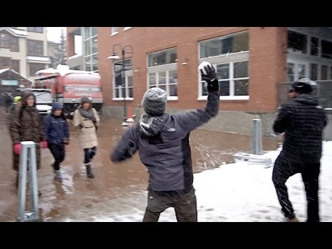 SNOWBALL FIGHT PRANK - HOW TO PRANK