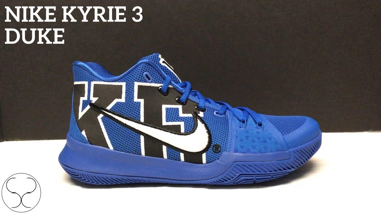 296d2a7d530 Kyrie 3  Duke  - YouTube