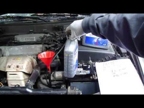 How to replace automatic transmission oil Toyota Camry. Year