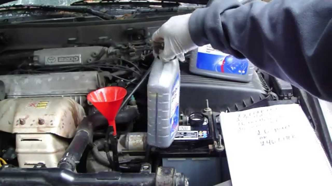 High Quality How To Replace Automatic Transmission Oil Toyota Camry. Years 1990 To 2007.    YouTube