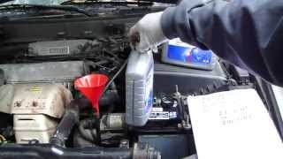 How to replace automatic transmission oil Toyota Camry. Years 1990 to 2007.