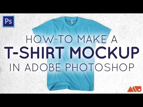 052f632da T-Shirt Mockup Photoshop Tutorial - YouTube