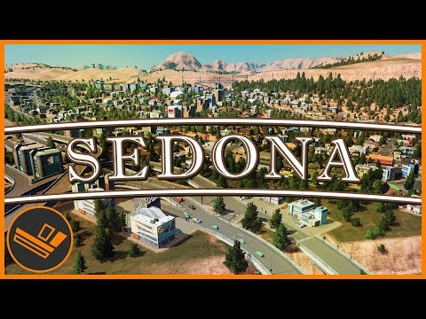 Sedona - Part 48 | SPRAWL (Cities: Skylines)