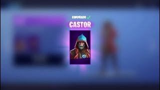 Novas Skins * CASTOR E ELMIRA * Fortnite Battle Royale