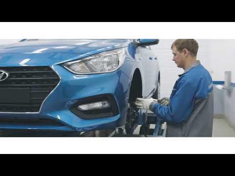 Экскурс (обзор) в автосервис Hyundai (прокатка дисков)