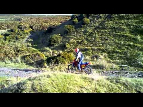 1985 XR250 hill climb
