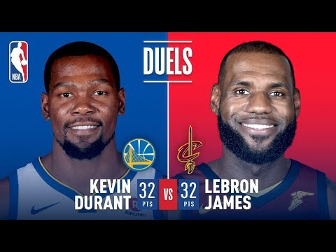 Kevin Durant and LeBron James Duel, Each Score 32 Pts   January 15, 2018