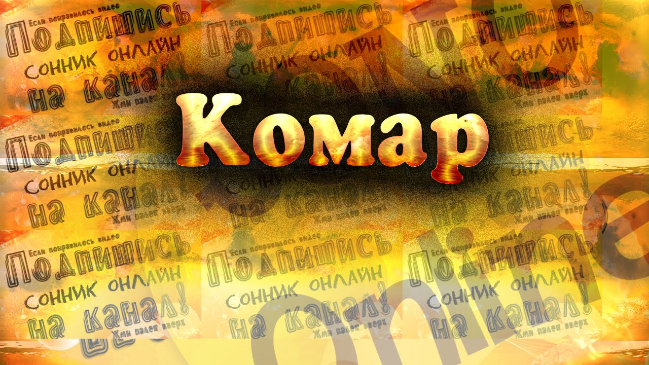 Комар Сонник онлайн   Sonoonline