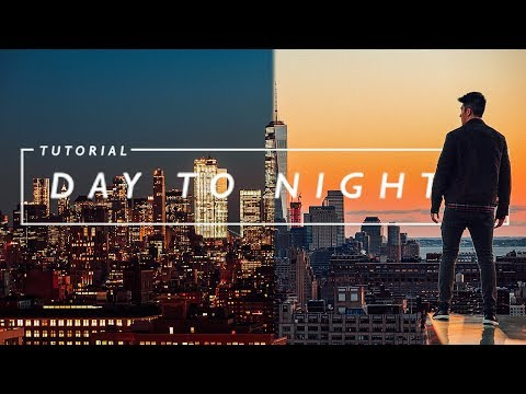 The BEST way to create a DAY to NIGHT TIME-LAPSE
