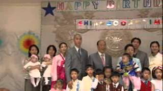 文信俊様の1歳の誕生日の映像(韓国語)です。