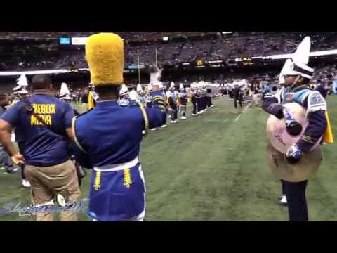 Southern University Marching In - 2015 Bayou Classic Game