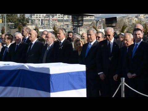 Israel : World Leaders Pay Homage As Israel Buries Former Prime Minister Ariel Sharon (Jan 13, 2014)