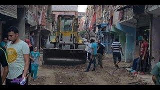 شاهد ..شباب مصري يطلق مبادرة طور شارعك لتنظيف شوارع المناطق العشوائية قبل فصل الشتاء