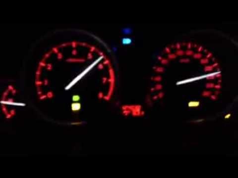 Mazda 6 1.8 top speed max speed 220 km/h - YouTube