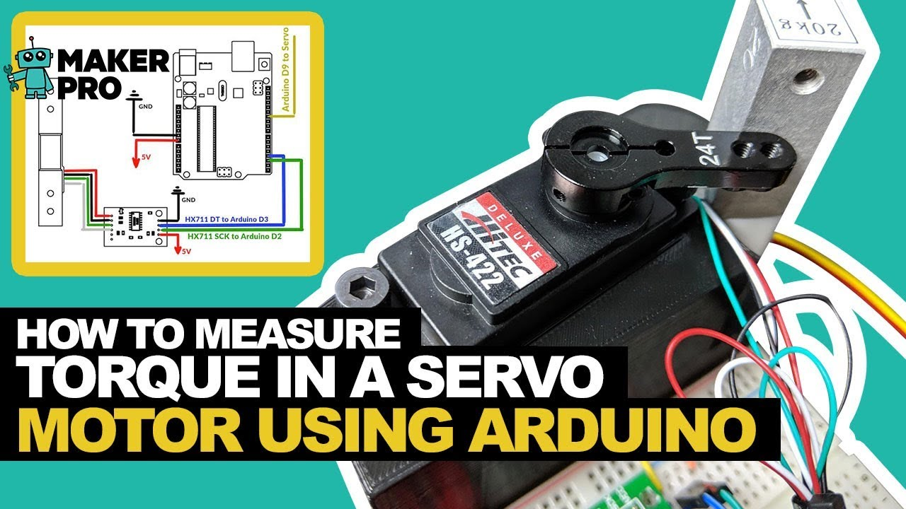 How to Measure a Servo's Torque Using an Arduino | Arduino | Maker Pro