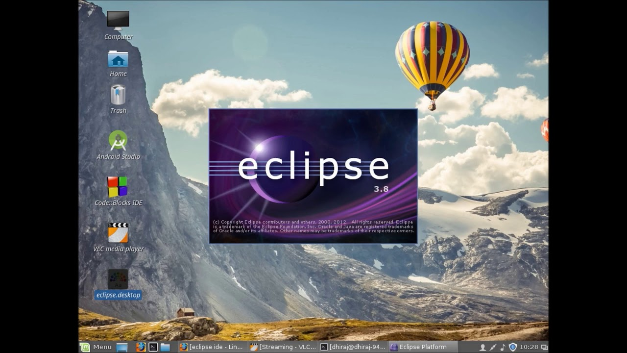 how to install eclipse in linux mint using terminal