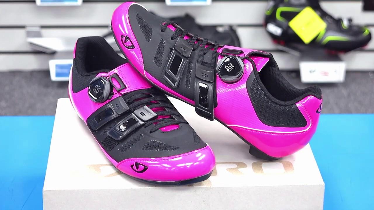 Giro Raes techlace Womens Road Bike Shoes Black 2019