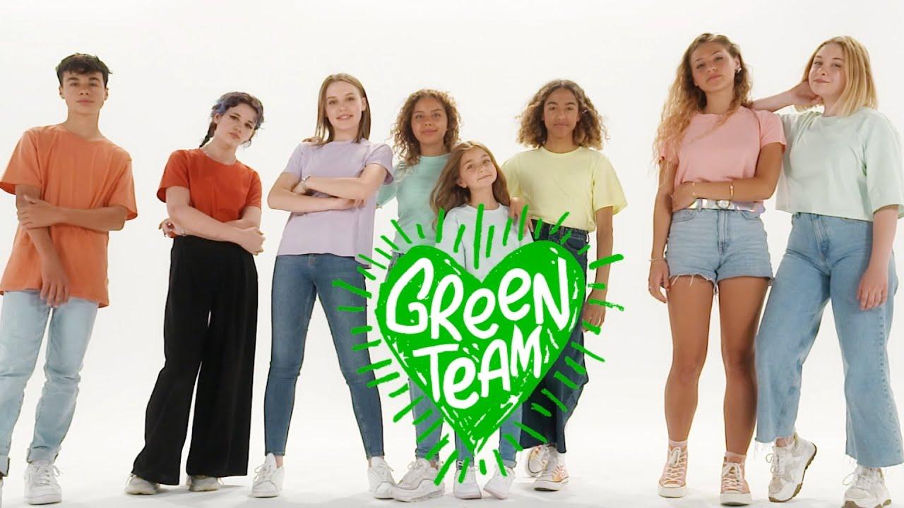 Green Team - Trois petits pas (Vidéo Lyrics)