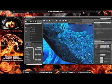 Dragon's Den Working on my Ark map, in the Ark dev kit!