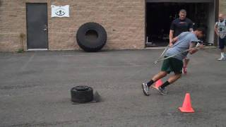 DeFrancosGym.com - Lower Body Strength & Power Workout: 4-13-10