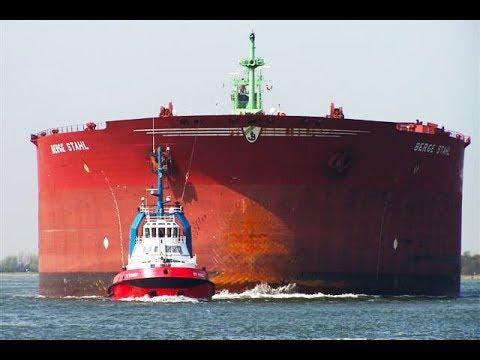 СУПЕРТАНКЕРЫ - Корабли гиганты