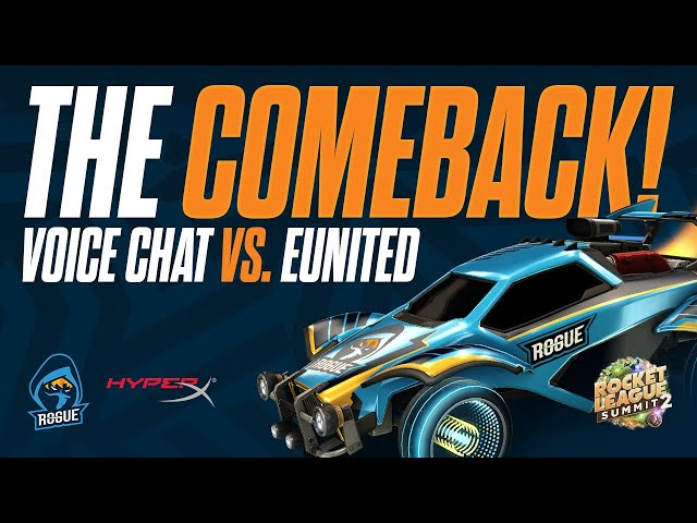 EUnited really thought they could win... | Rocket League Comms powered by HyperX