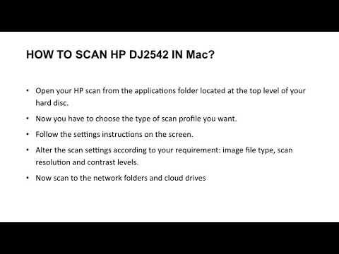 How to Scan in HP Deskjet 2542 Printer? - 123 hp com/dj2542