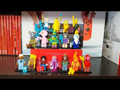 Lepin (Lego) Adventure Time Minifigs Via Aliexpress (no Commentary)
