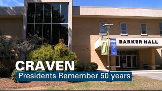Craven Community College Presidents Remember 50 Years
