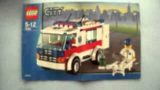 LEGO 7890 CITY AMBULANCE N392