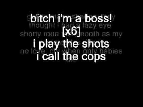 Meek Mill Ft. Rick Ross - I`ma Boss W/ Lyrics on Screen