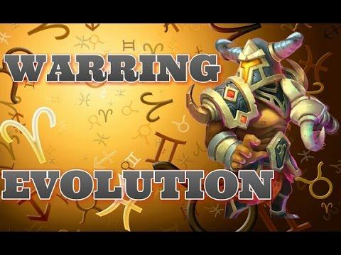 Castle Clash Warring Evolution!