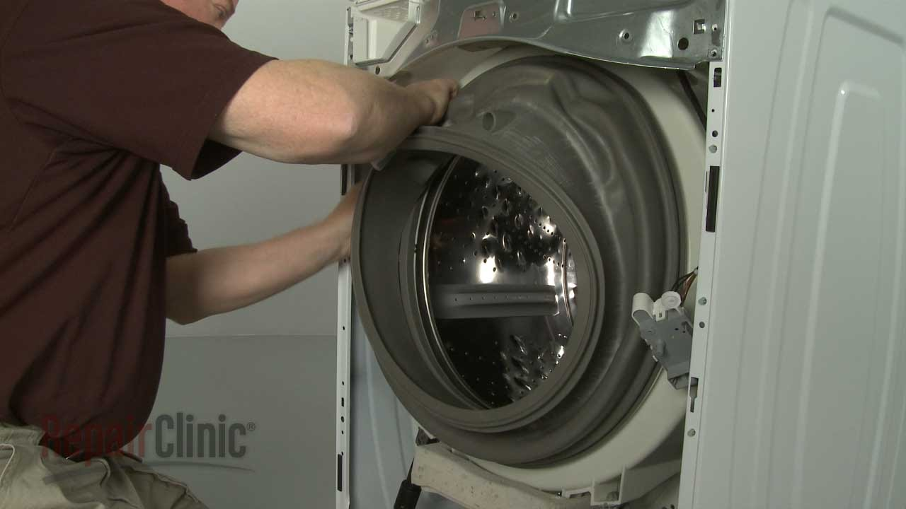 replacing washing machine seal