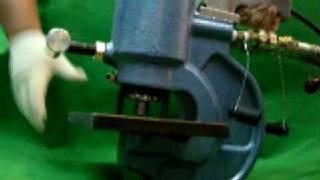 유압 펀칭기 동영상 - 대천유압기계