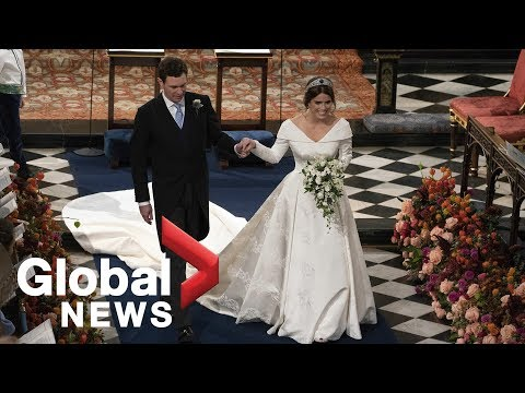 Laura Anderson - Look who steals the show at Princess Eugenie's Royal Wedding!