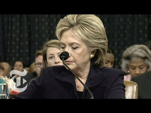 Benghazi Hearing Committee Chairman on Hillary Clinton's Emails | The New York Times