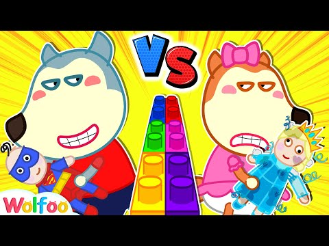 Wolfoo vs Lucy – Learning How to Share, Say Sorry and More Kids Stories | Wolfoo Family Kids Cartoon