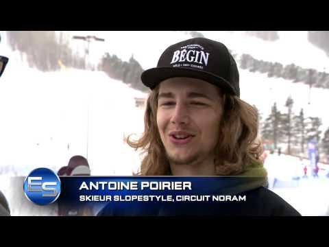 L'ESPRIT SPORTIF -  Chicoutimi vs Remparts -- Coupe du Monde ski de fond- Skis Freestyle Stoneham