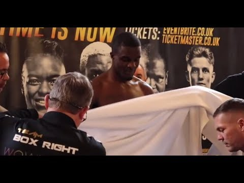 OD NEEDS TO STRIP! -  JACK CATTERALL v OHARA DAVIES  OFFICIAL WEIGH-IN & HEAD TO HEAD