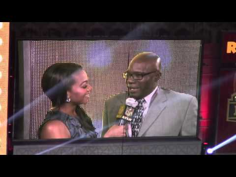 Emerson Boozer New York Jets Interview At NFL Draft